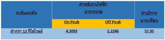 On Peak และ Off Peak เครื่องวัดไฟฟ้า เครื่องวัดกระแสไฟฟ้า แอมมิเตอร์ ตรวจสอบค่าไฟฟ้า